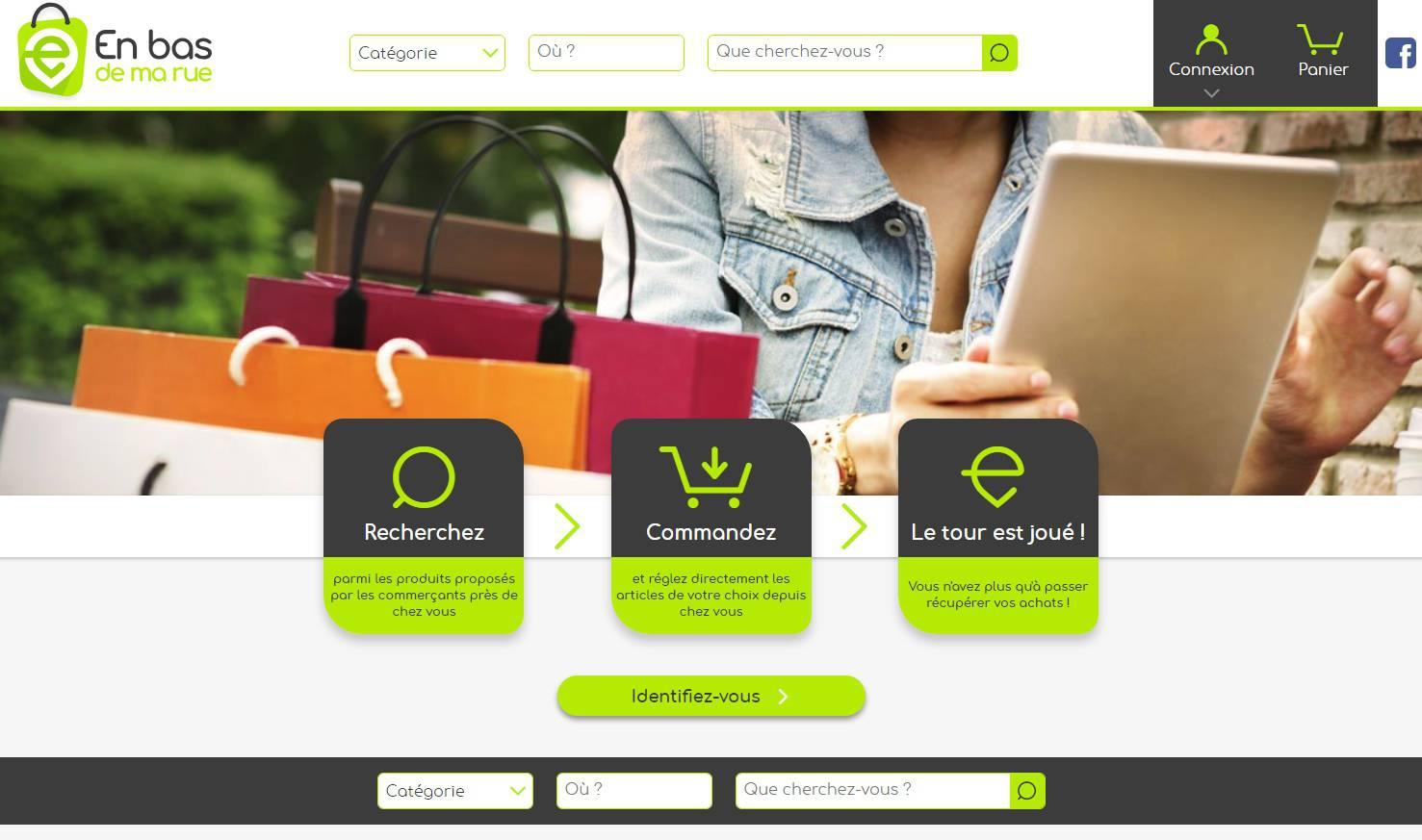 Création d'une marketplace de commerce local pour la CCI Nord-Isère